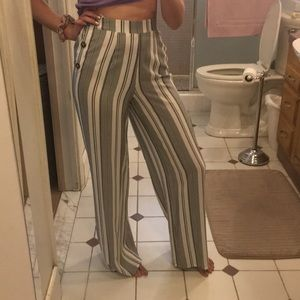 1c78d0124a7f95 Pink Rose Pants - Pink Rose Striped Pants from TJ Maxx